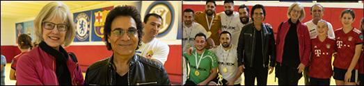 حضور شهردار بربنک و حضور اندی در مراسم اهدای جوایز فینال فوتبال، انعکاس گسترده ای داشت