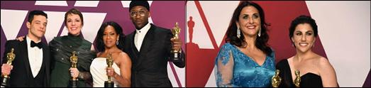مراسم اهدای جوایزاسکار ۲۰۱۹ برگزار شد