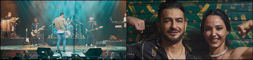 اورلاندو روی صحنه رفت House Of Blues سامی بیگی اولین بار در