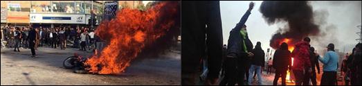 اعتراضات سراسری در ایران به خشونت کشیده شد