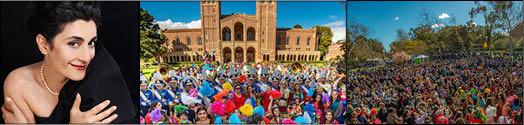 برگزاری دوازدهمین جشن نوروزی«بنیاد فرهنگ» در دیکسون کورت دانشگاه لس آنجلس